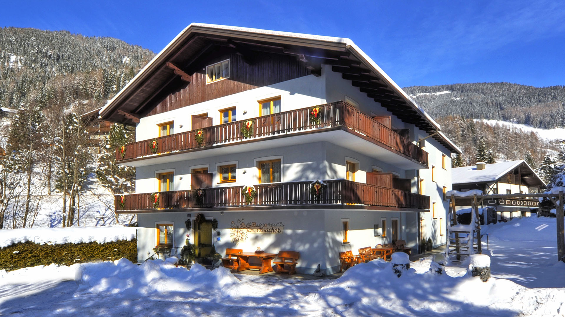 Pension Isabella - Winter in Bad Kleinkirchheim